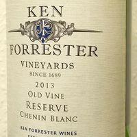 Tegnap ittam - Ken Forrester Vineyards Old Vine Reserve Chenin Blanc 2013