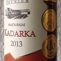 Tegnap ittam - Koch Prémium Hajós-Bajai Kadarka 2013