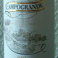 Tegnap ittam - Santa Cristina Campogrande Orvieto Classico 2017