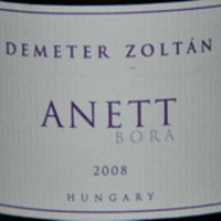 Demeter Zoltán: Anett bora 2008 - Up to date