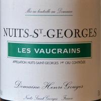 Dom. H. Gouges: Nuits St. Georges 1er cru Les Vaucrains 2003