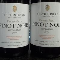 Tegnap ittam - Felton Road pinot páros