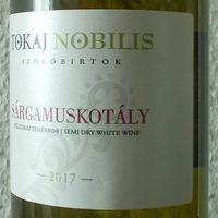 Tegnap ittam - Tokaj Nobilis Sárgamuskotály 2017