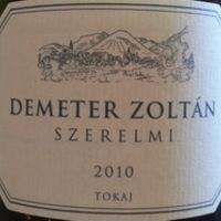 Demeter Zoltán: Szerelmi hárslevelű 2010