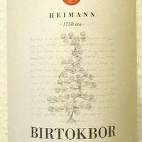 Tegnap ittam - Heimann Birtokbor 2014