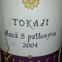 Kikelet: Tokaji aszú 5 putt. 2004 - Up to date
