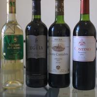 Néhány bor Rioja-ból