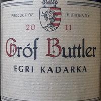 Gróf Buttler: Egri Kadarka 2011
