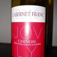 Jovly: Chinon (cabernet franc) 2010.