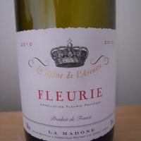 Domaine de la Madone: Fleurie 2010.