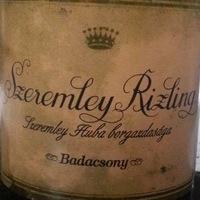 Szeremley Rizling 2012