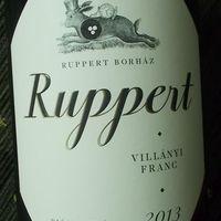 Tegnap ittam - Ruppert Villányi Franc 2013