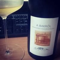 """Tegnap ittam – Bakó Ambrus """"A Bakról"""" Olaszrizling 2011"""