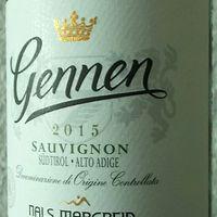 Tegnap ittam - Nals Margreid Gennen Sauvignon 2015