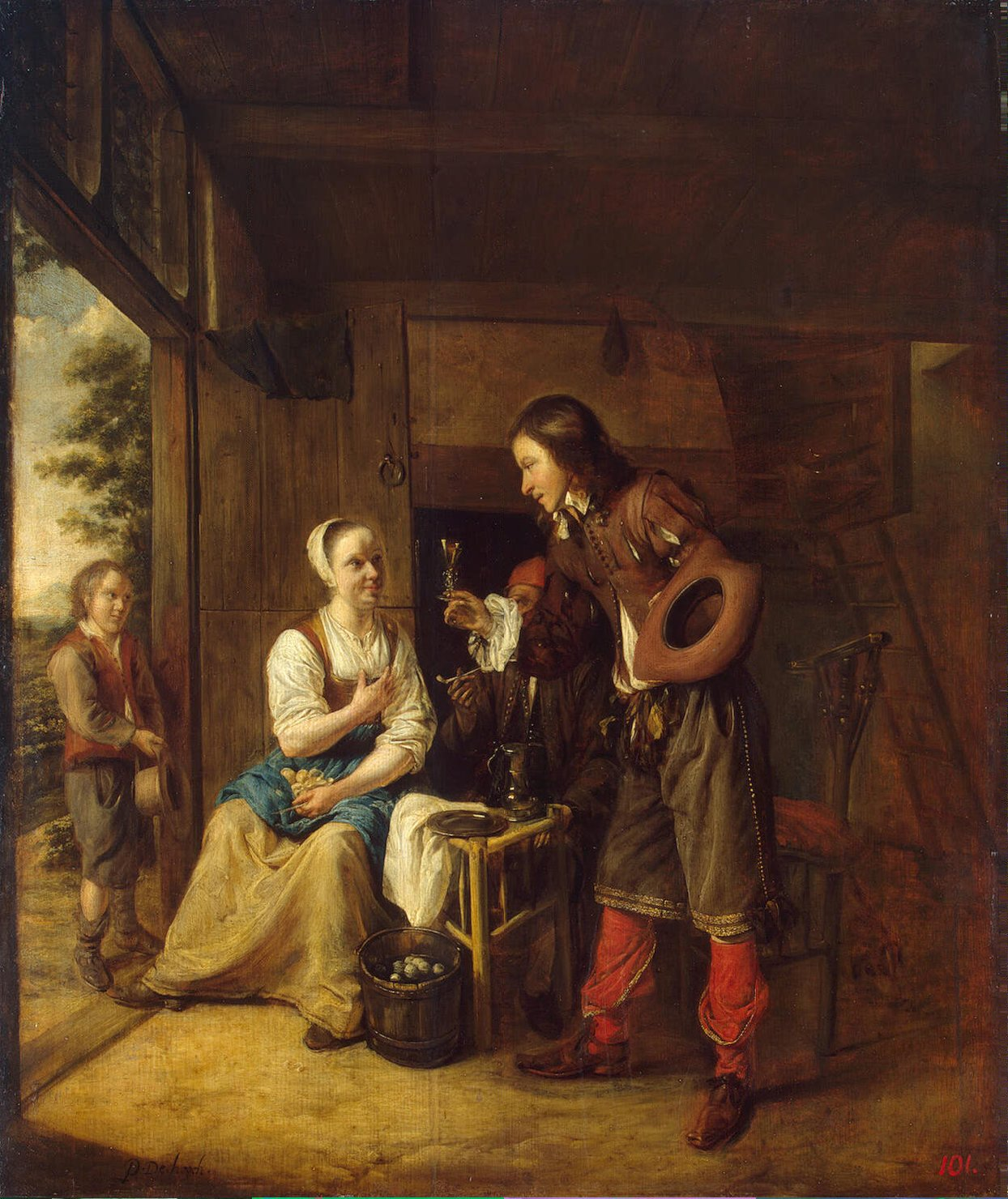 soldier-offering-a-woman-a-glass-of-wine-hooch-pieter-de-oil-painting-1.jpg