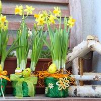 Húsvéti kaspó díszítés egyszerűen, gyorsan