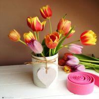 Pikk-pakk ajándék: készíts anyák napjára vázát konzervdobozból