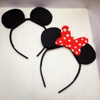 Mickey és Minnie egér fülek farsangra sk.