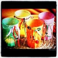 Rízspapíros pohármécses