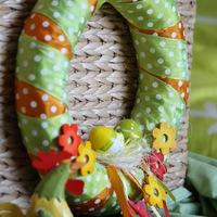 Húsvét kopogtat az ajtónkon - koszorú, ajtódísz, de iziben
