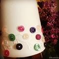 Lámpaernyő gombokkal
