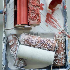 Mintás festőhengerek újra divatban