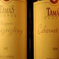 Két bor a Tamás pincéből