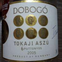 Dobogó Pince, Tokaji Aszú 6 puttonyos 2005