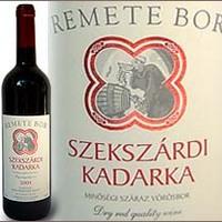 Vesztergombi József Szekszárdi Kadarka 2006