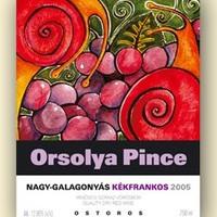 Orsolya Nagy-Galagonyás Kékfrankos 2005