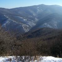 2011. január 29. Perőcsény - Nagy-Kő-bérc - Szarvas-kő - Magas-hídi-rét - Csóványos - Nagy-Hideg-hegy - Kóspallag