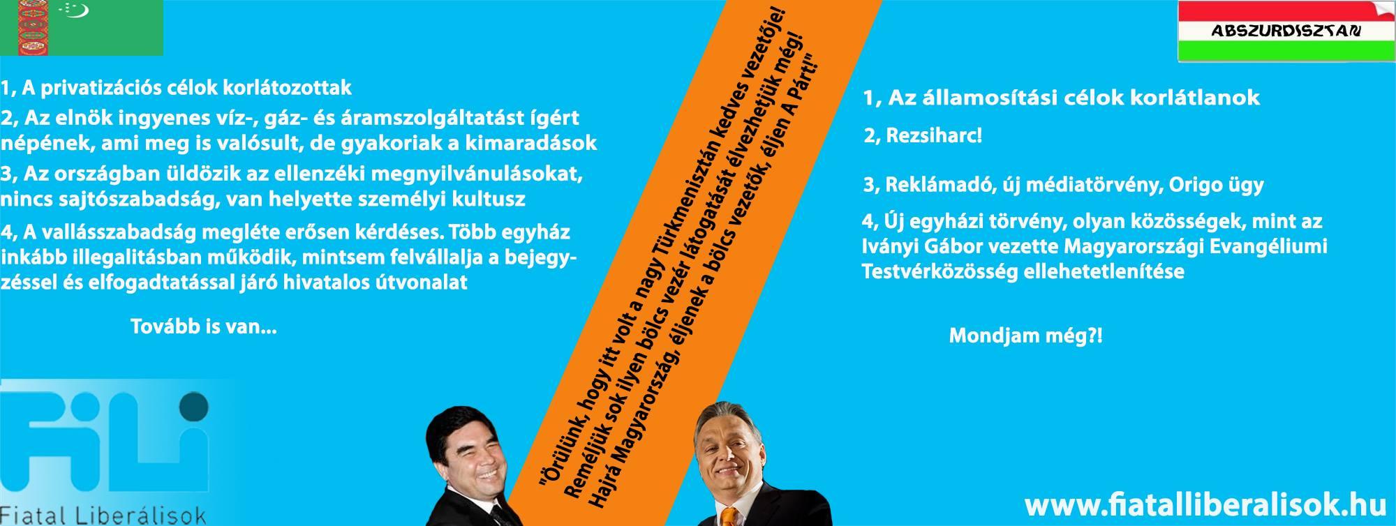 Türkmenisztán - Abszurdisztán összehasonlítás.jpg