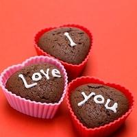 Valentin napi csokis muffin