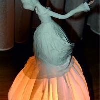 Papírmasé lámpa