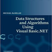 Data Structures And Algorithms Using Visual Basic.NET Michael McMillan
