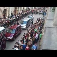 Ír drukkerek vegzálták az angol focistákat Krakkóban
