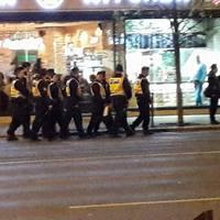 A rendőrség a tüntetésről: