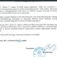 Újabb semmitmondó válasz a főügyésztől Kiss Szilárd-ügyben