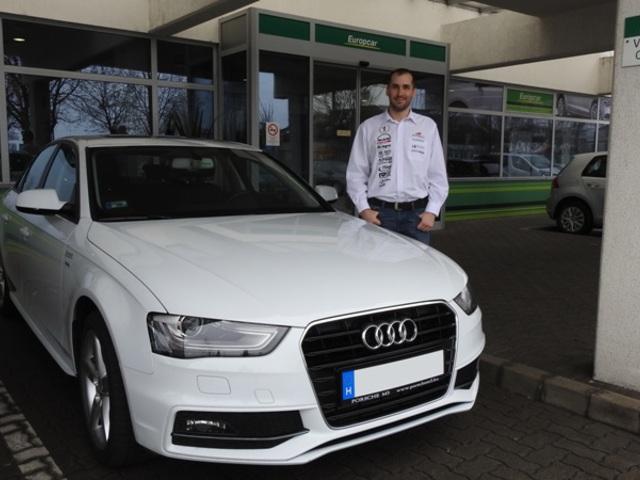 Kiss Norberttel száguld tovább a Europcar autókölcsönző