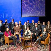 A magyar sport legendái a Nemzeti Színház színpadán verseltek