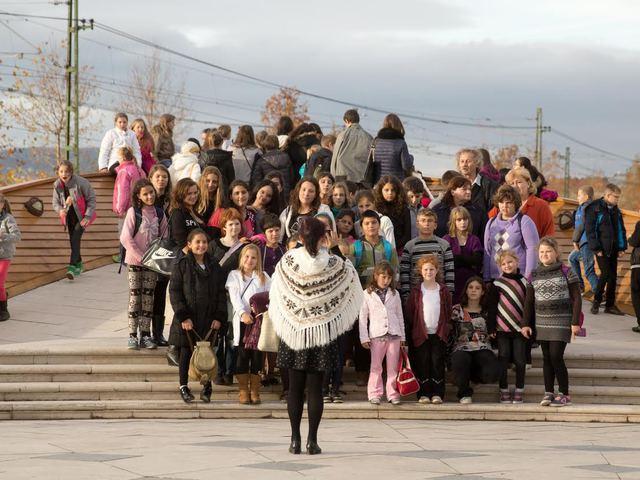 Hátrányos helyzetű gyerekeket látott vendégül a Nemzeti Színház
