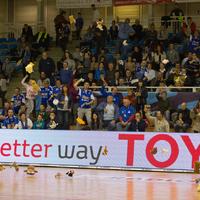 Plüssdobálást rendez a MOL-Pick Szeged csapata