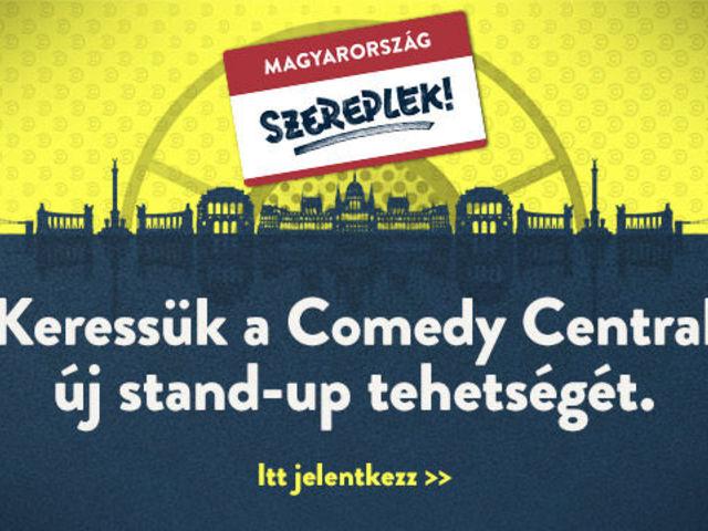 Új stand-up tehetségeket keres a Comedy Central