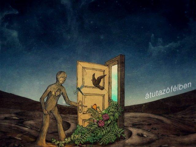 Átutazófélben – Itt a Minden Csak Átmenet első nagylemeze
