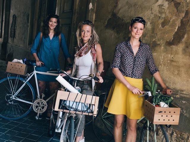 Fa kerékpáros ládák stílusos biciklisiknek