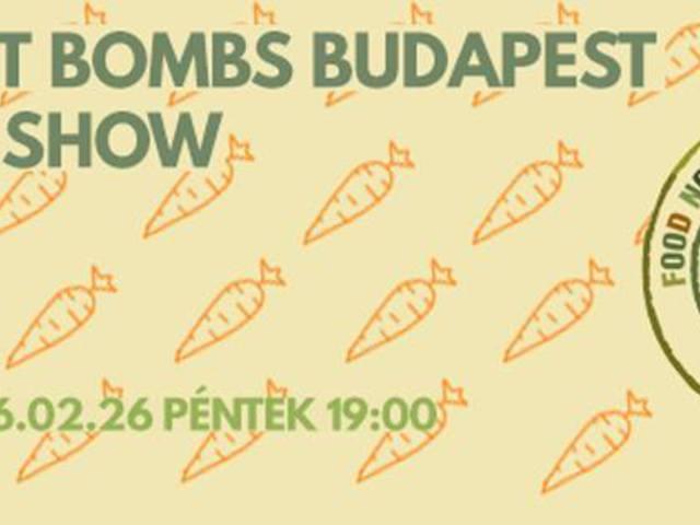 Zenével a közös üstbe - Food Not Bombs Budapest támogató fesztivál