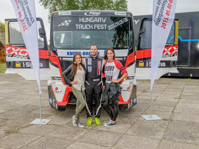 Vajna Tímea lesz az első kamionversenyző nő?