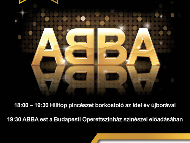 Abba est borkóstolóval a Gozsdu Celebrity Panopticban