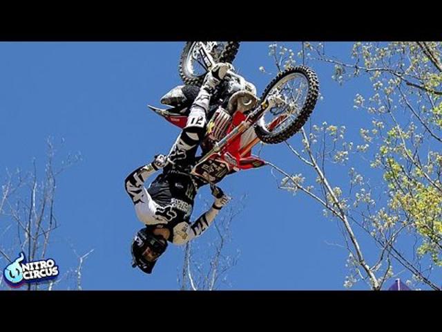 BREAKING NEWS! Josh Sheehan, a Nitro Circus Freestyle Motocross sztárja történelmet írt – TRIPLA HÁTRASZALTÓ