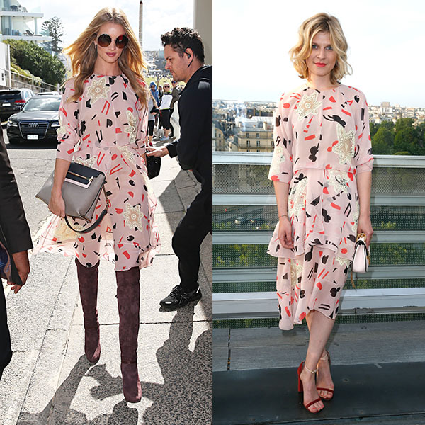 Rosie Huntington-Whiteley és Clemence Poesy